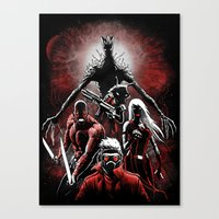 Legendary Guardians Canvas Print