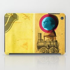 A childhood journey between reality and imagination... iPad Case