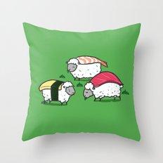 Susheep Throw Pillow