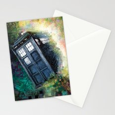 Dr. Who Tardis Stationery Cards