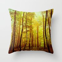 breathe deeply Throw Pillow