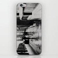 in black and white ...  iPhone & iPod Skin