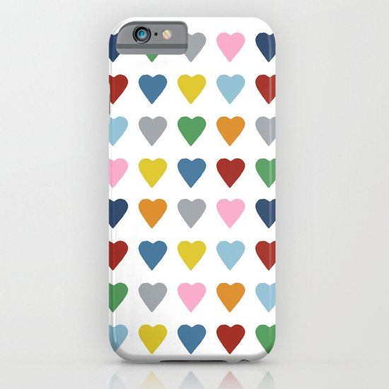 64 Hearts iPhone & iPod Case