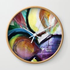 Off the Cross Icon Wall Clock