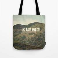 Hollywood (color) Tote Bag