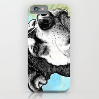 iPhone & iPod Case featuring Husky Dog  by WOOF Factory