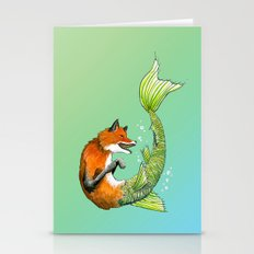 River Fox Stationery Cards
