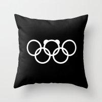 Olympic Games Logo 2014.… Throw Pillow