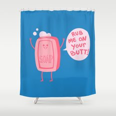 Lil' Soap Shower Curtain