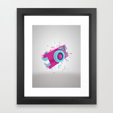 Candy camera Framed Art Print