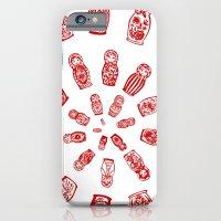 iPhone & iPod Case featuring Matryoshkas'  Spiral by Katya Zorin