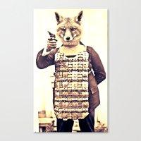 FOXRIOT Canvas Print