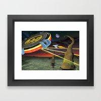 Tribute to ELO Framed Art Print