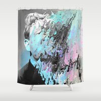 Breakfast Thoughts Shower Curtain