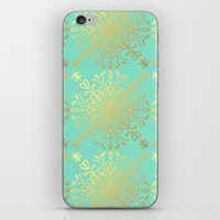 Elegance Golden Caramel  iPhone & iPod Skin