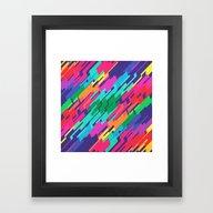 Framed Art Print featuring Ray by Tony Vazquez
