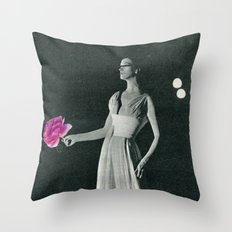 Curtain Down Throw Pillow