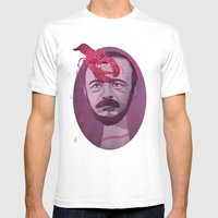 Gérard De Nerval Mens Fitted Tee White SMALL