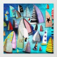 New York Yacht Club Rega… Canvas Print