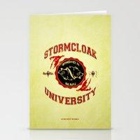 Stormcloak University(Skyrim) Stationery Cards