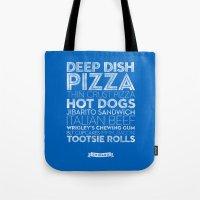 Chicago — Delicious Ci… Tote Bag