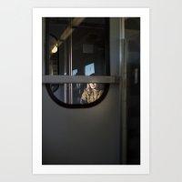 Train To Siena, Italy Art Print