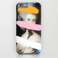 iPhone Cases featuring Brutalized Gainsborough 2 by Chad Wys