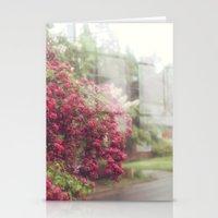 Rainy Window Stationery Cards