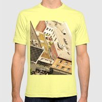 Granville Street Mens Fitted Tee Lemon SMALL