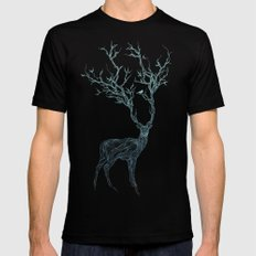 Blue Deer Mens Fitted Tee SMALL Black