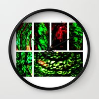 Blood Emerald Wall Clock