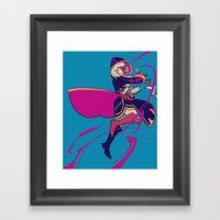Arcfire Framed Art Print