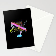 Burning The Candle At Both Ends. Stationery Cards