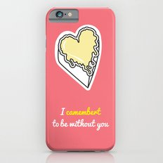 Cheesy Hearts - Camembert iPhone 6 Slim Case