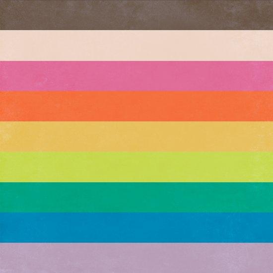 Autumn Rainbow Art Print