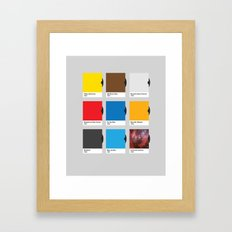 All Hue Need is Love Framed Art Print