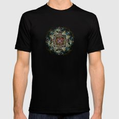 IF I Had A Country, this would be its flag.  SMALL Black Mens Fitted Tee
