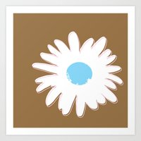 STATIONERY CARD - Daisy #1 Art Print