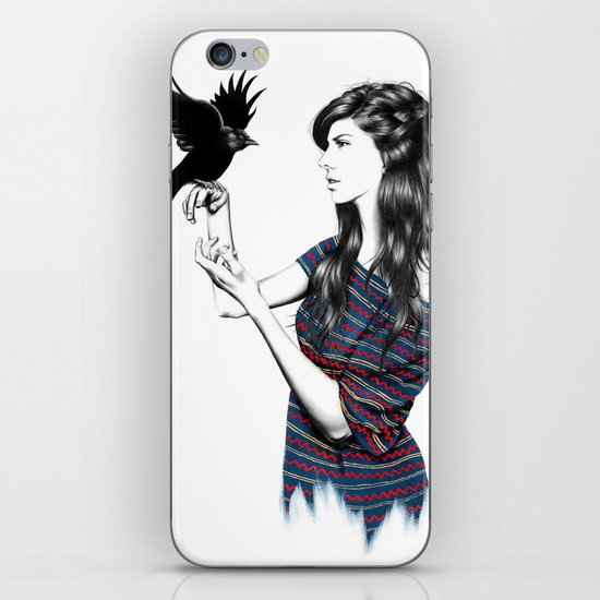 Dark Wings iPhone & iPod Skin
