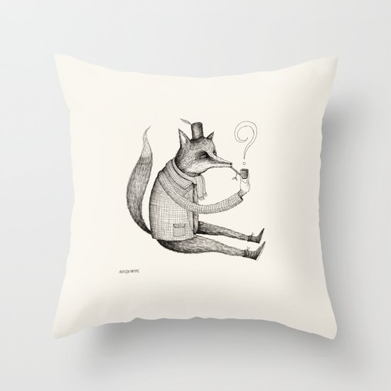 'Theories'  Throw Pillow