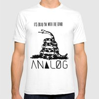 Snake And Band (Analog Z… Mens Fitted Tee White SMALL