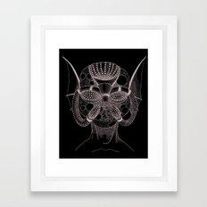 Masque de l'Eau (Water Mask) Framed Art Print