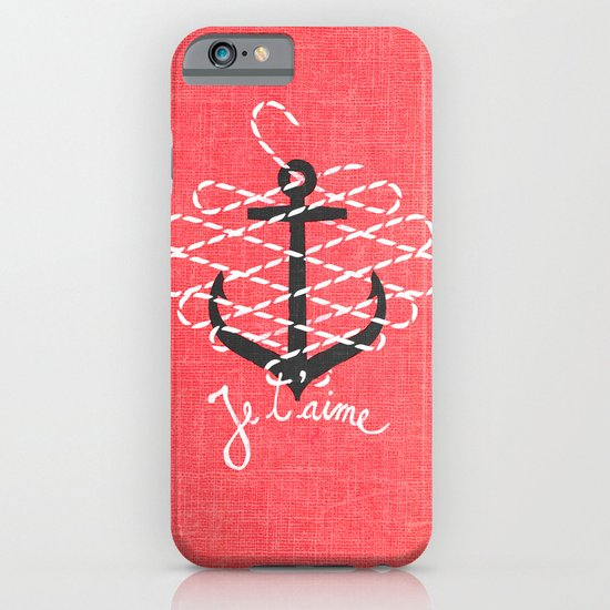 Je t'aime iPhone & iPod Case