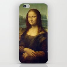 Mona Lisa by Leonardo da Vinci iPhone & iPod Skin