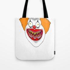 Cannibal Clown T-shirt Tote Bag