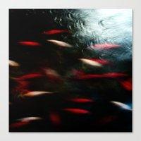 Abstract Goldfish_03 Canvas Print