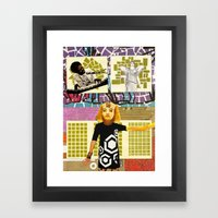 Muses of the Subconscious Framed Art Print