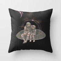 Catch your own star Throw Pillow