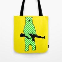 dot bear Tote Bag