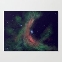Stellar Wind Canvas Print